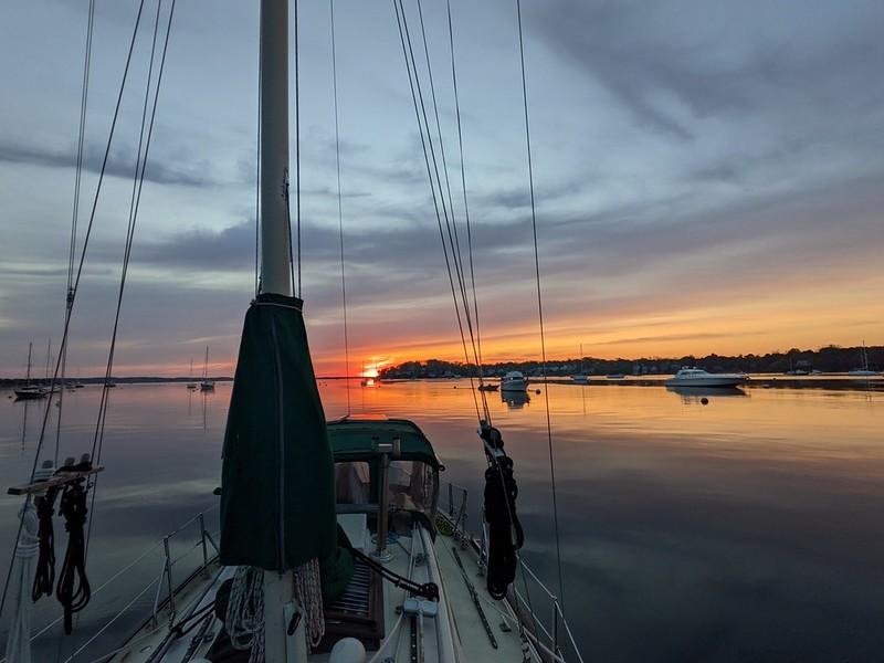Sunrise on Naugus Head