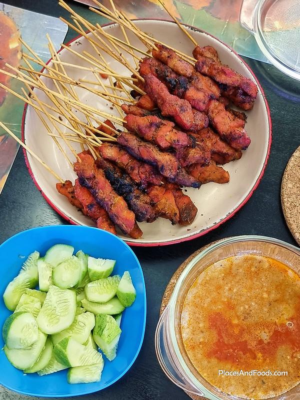 willy satay kajang chicken satay