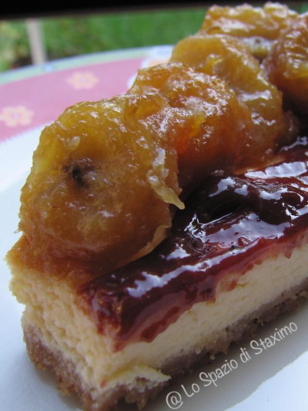 Cheesecake Banana-Lampone