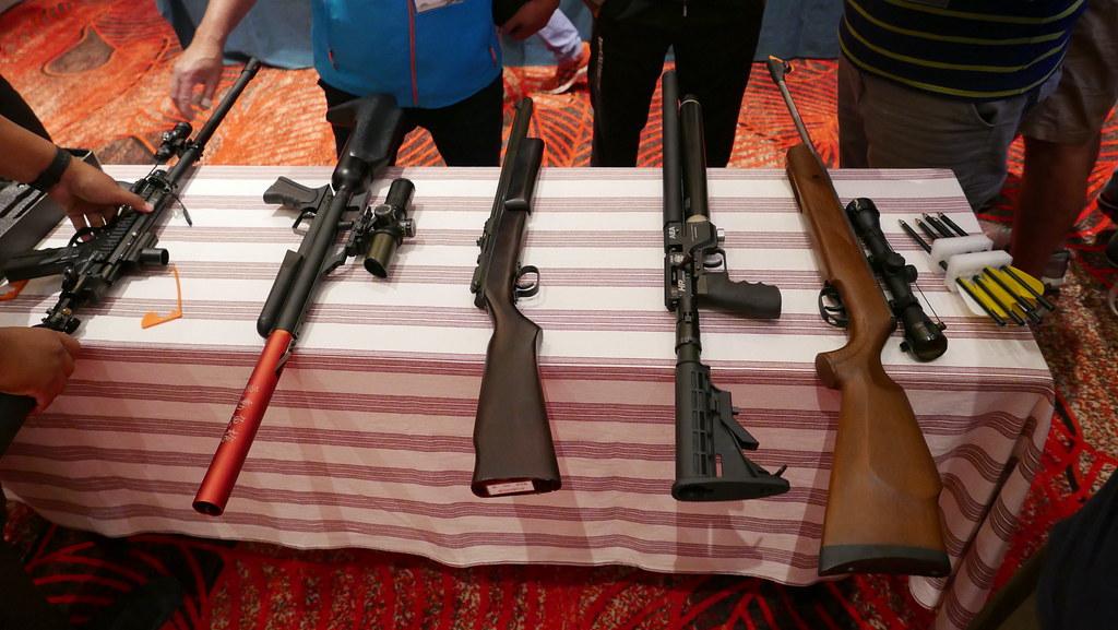 汪明輝指出,國家有責任提供原民真正安全的獵槍。鄭雅云攝。