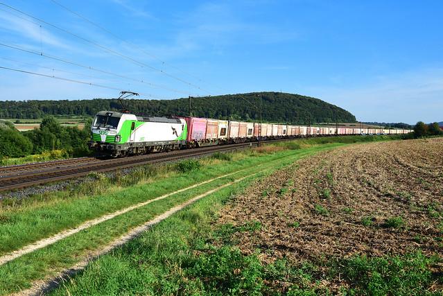 193 814-1 SETG / Railpool I Wettelsheim / Treuchtlingen (12993)