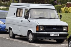 1985 Ford Transit 100 B468XHU.