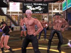 Shirtless cowboy Tuesday