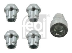 FEBI anti-theft protection for smart wheels, set of 4 LOCKABLE WHEEL NUTS