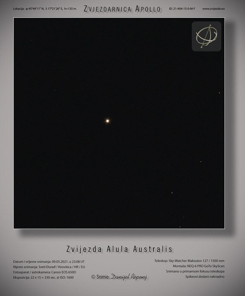 Alula Australis,