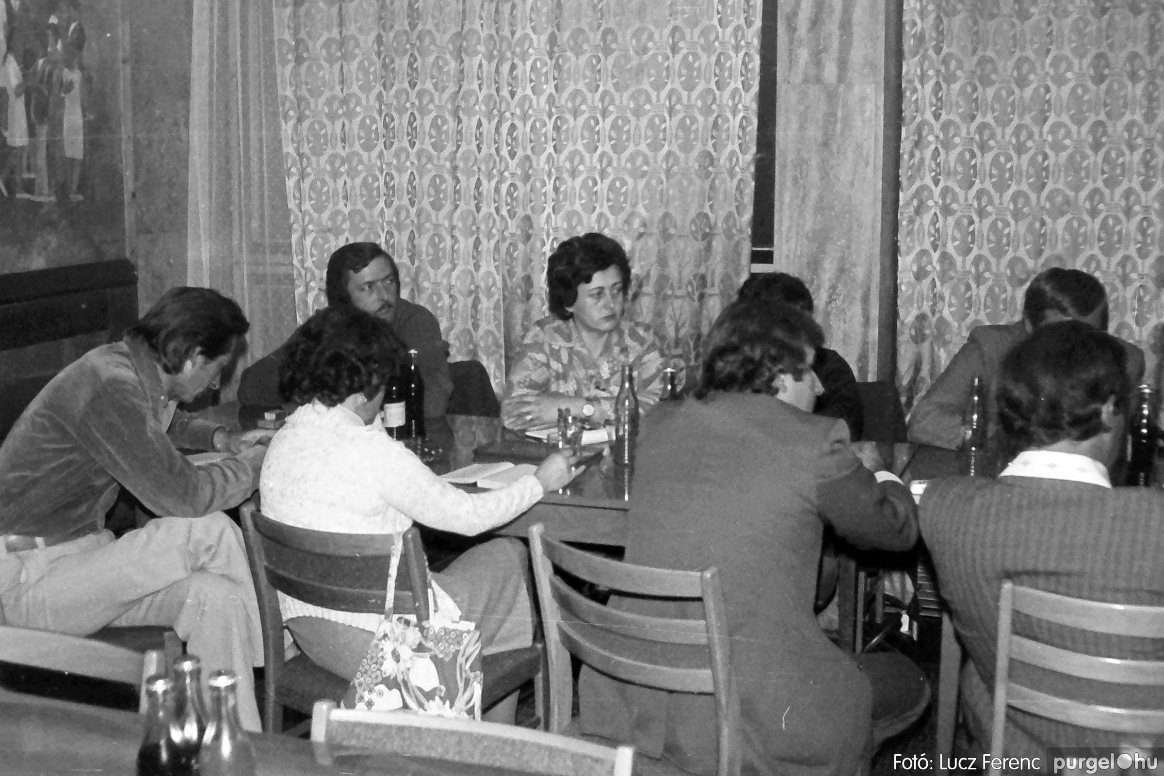 120. 1978. Rendezvény a pártházban 003. - Fotó: Lucz Ferenc.jpg