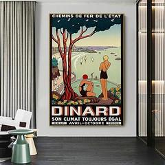 Affiche Vintage Dinard