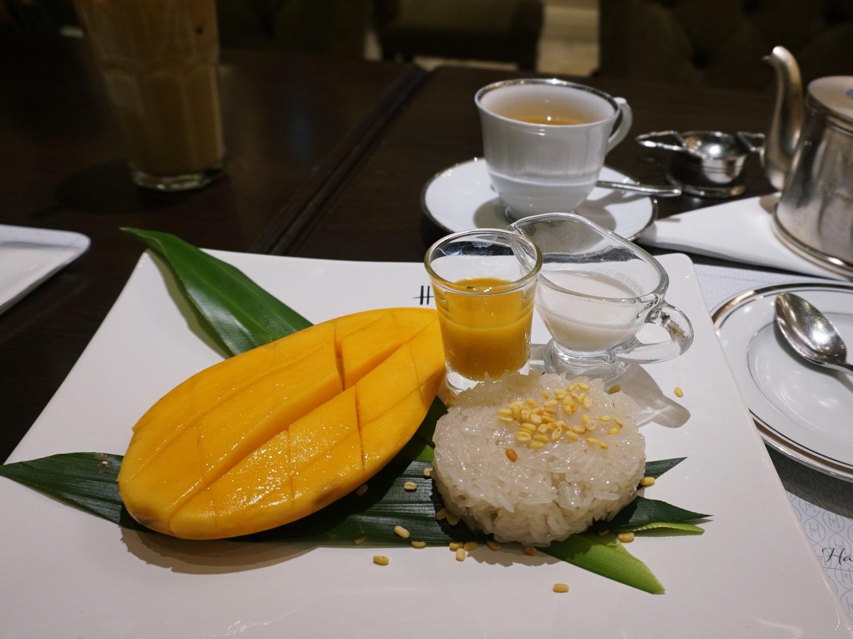 Harrods mango sticky rice