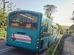 Arriva North East: 1434 NK10CEN VDL SB200 Wright Pulsar X4A to Loftus for Middlesbrough via Redcar and saltbrun