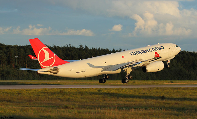 Turkish Cargo Airbus A330-243F TC-JDO
