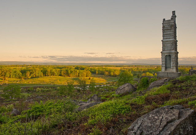 Early morning from Little Round Top