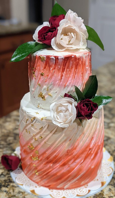 Cake by Chandra Davis of Iced Over Confections