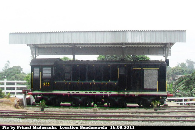 G2 535 at Bandarawela in 16.08.2011