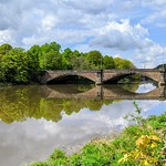 Bridge over the River Ribble at Preston