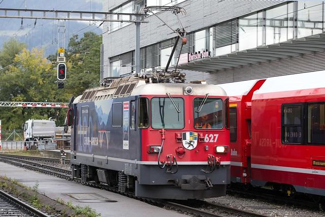 RhB Ge 4/4 II 627 Landquart