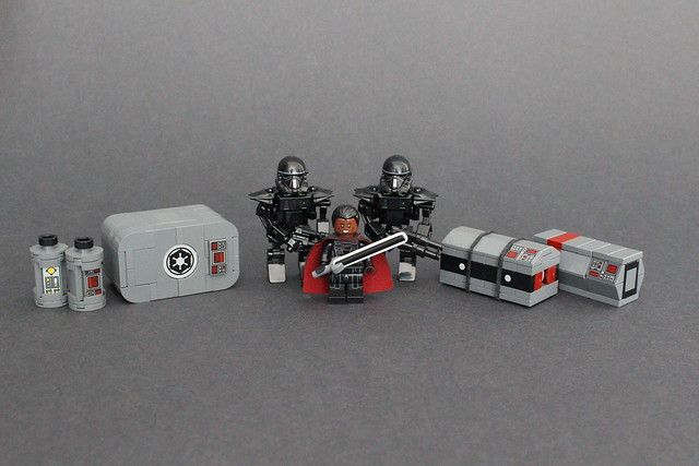 Moff Gideon and Dark Troopers