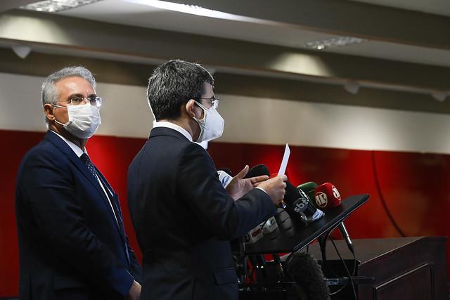Coletiva de imprensa - CPI da Pandemia