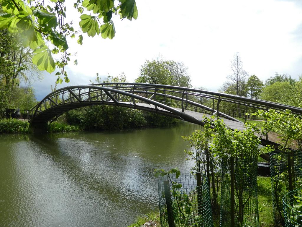 Jubilee Bridge, Christ Church Meadows, Oxford