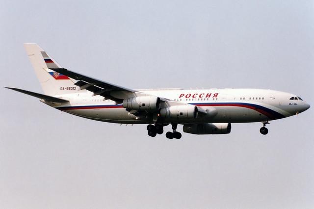 Rossiya State Transport Company | Ilyushin IL-96-300 | RA-96012 | Birmingham International