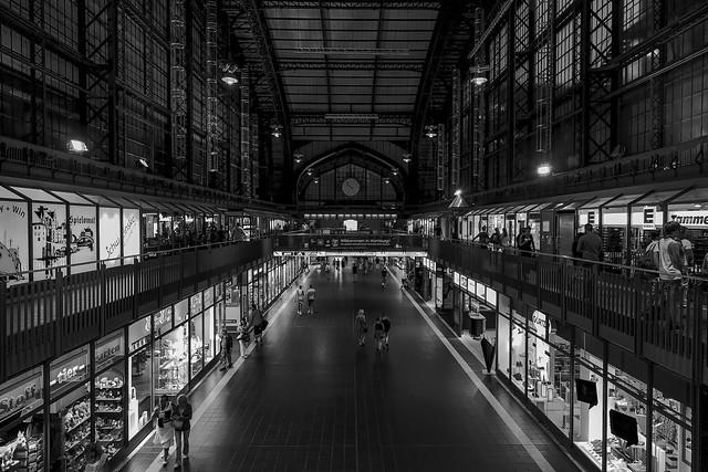 Einkaufspassage Hamburg Hbf