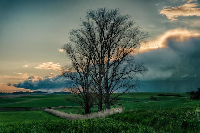 Rain coming (explored)