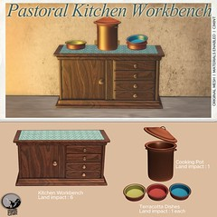 New release @ Petit Chat : Pastoral Kitchen Workbench