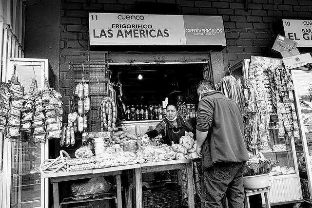 Mercado El Arenal, Cuenca, Ecuador  🇪🇨