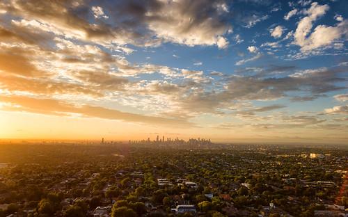 drone dronephotography dji mavic sunset melbourne victoria australia city view clouds urban 1001nightsthenew 1001nights 1001nightsthenewmagiccity 1001nightsmagicwindow