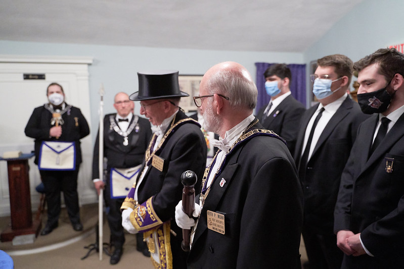 Grand Master Visit to Mother Lodge 2021