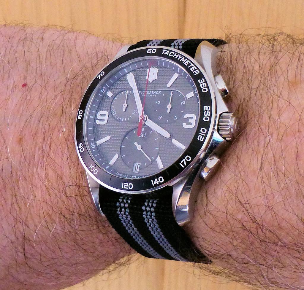 victorinox chrono bond para wrist