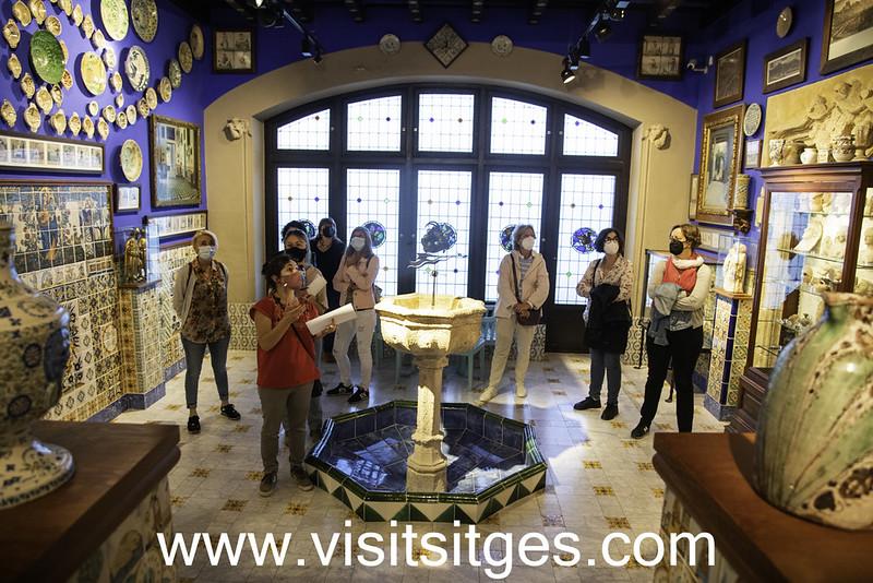 Visites guiades Museu del Cau Ferrat – Sitgestiu 2021