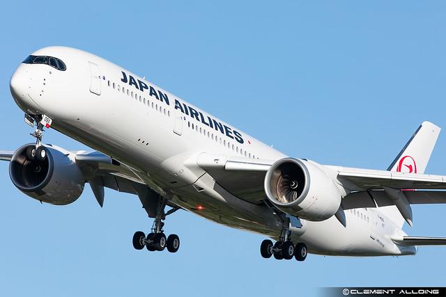 Japan Airlines Airbus A350-941 cn 497 F-WZNO // JA09XJ