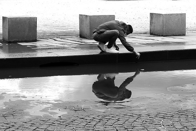Into the puddle