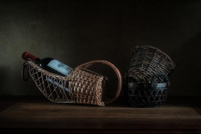 Three baskets.