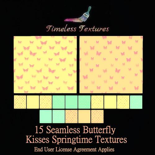 TT 15 Seamless Butterfly Kisses Springtime Timeless Textures