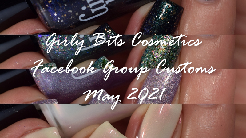 Girly Bits Cosmetics Facebook Customs