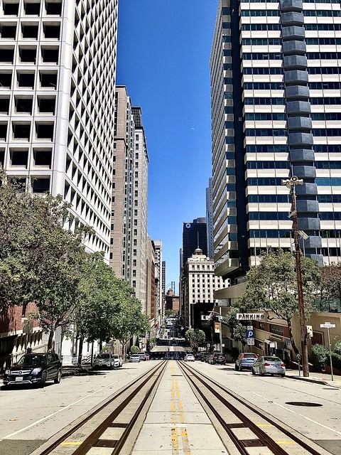 California Street, looking downtown