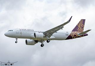 F-WWDS / VT-TQE Airbus A320-251N Vistara s/n 10464 * Toulouse Blagnac 2021 *