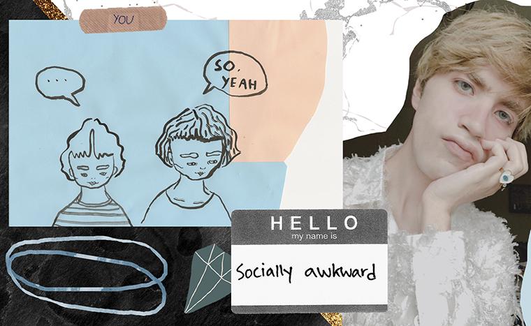 3. Dear Diary 3 I feel awkward around people