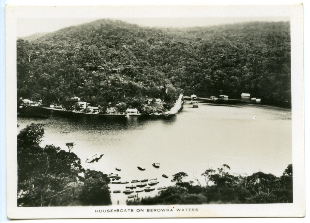 House boats on Berowra Waters