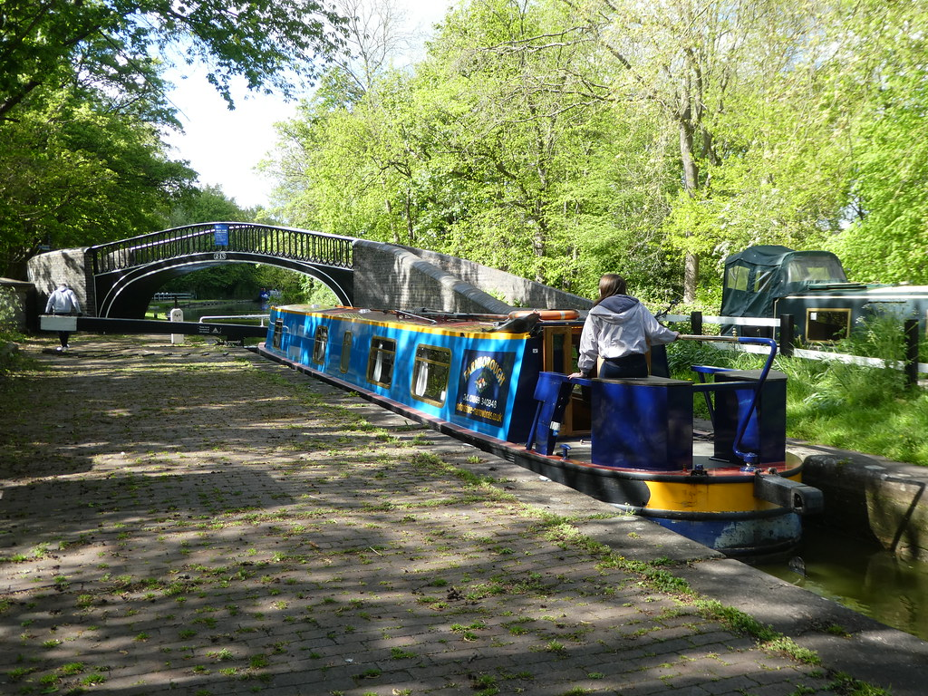 Isis Lock, Oxford Canal