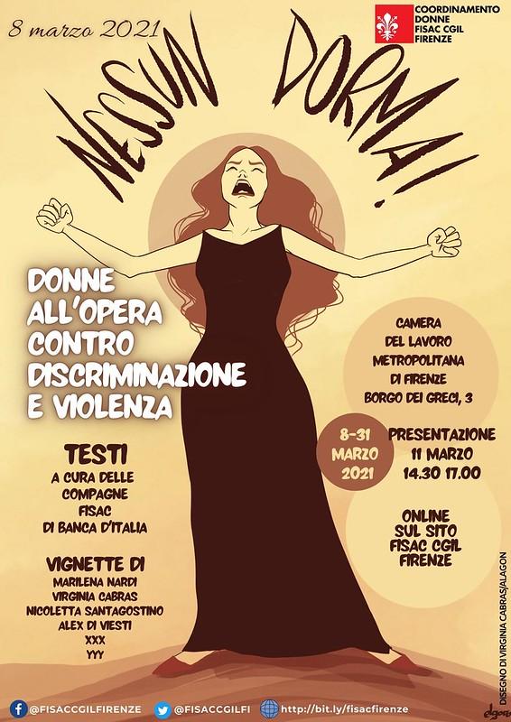 8 marzo 2021 Firenze NESSUNDORMA