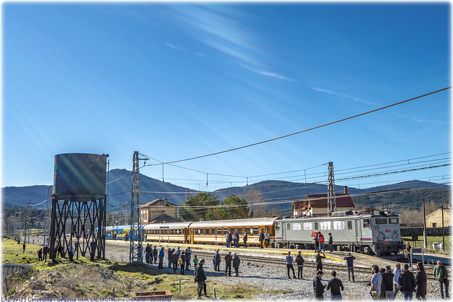 Tren de los 80 en El Espinar