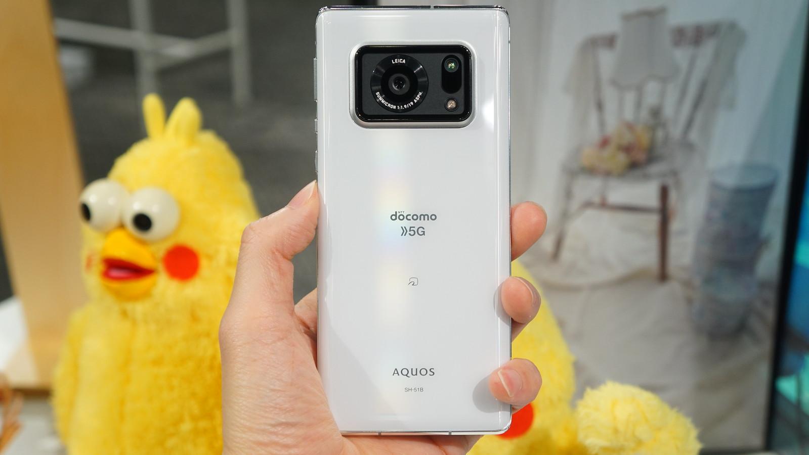 高性能デジタルカメラ用のイメージセンサーをそのままスマートフォンに搭載
