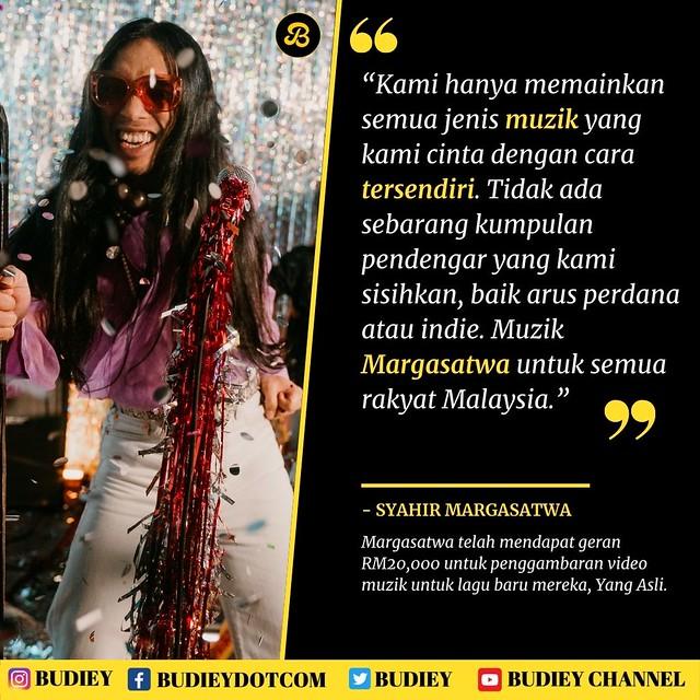 Lancar Single Yang Asli, Band Margasatwa Semakin Digemari Peminat Muzik Arus Perdana