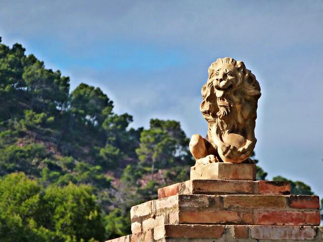 El león de la Carrasca - Nàquera - València