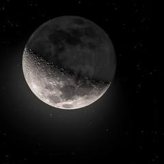 Lua Crescente | Waxing Crescent Moon