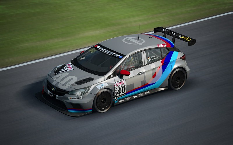 RaceRoom - Opel Astra TCR Previews