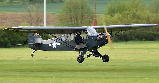Piper Cub J3C-65 G-BHVV USMC 42-38384