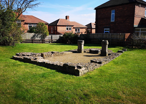 an image of the Temple of Antenociticus in Newcastle. © Icy Sedgwick